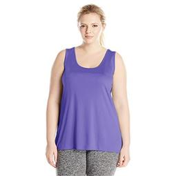 90563231683 Womens Plus-Size Cooldri Tank - Petal Purple, 5X