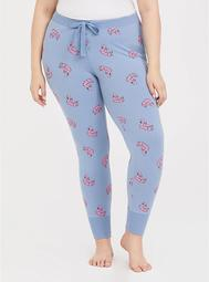 Blue Flamingo Sleep Pant