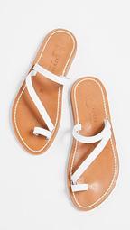 Actium Toe Ring Sandals