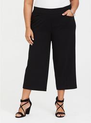 Black Culotte Pant