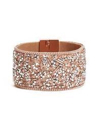 Rocky Crystal Wrap Bracelet