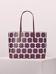 Molly Graphic Clover Large Tote