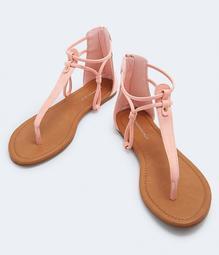 Pastel Embossed Gladiator Sandal***