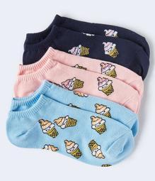 Ice Cream Ankle Sock 3-Pack
