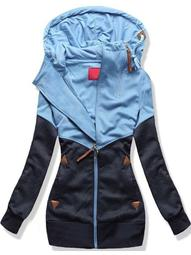 Plus Size Ladies Hooded Zipper Fleece Long Sleeve Sweatshirt Hoodie Jumper Sweater Coat Top