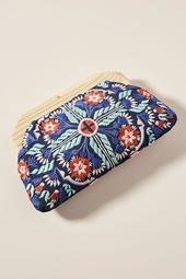 Cleobella Embroidered Finley Clutch
