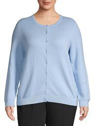 Plus Essential Knit Cardigan