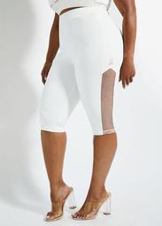 LA LA Anthony Mesh Trim Logo Shorts