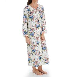 KayAnna Floral Flannel Gown F11435F