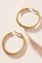 Aureate Hoop Earrings