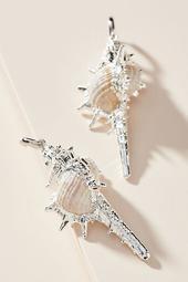 BaubleBar Shell Drop Earrings
