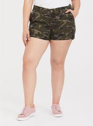 Military Short Short - Camo