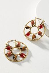 Lena Bernard Royal Hoop Earrings