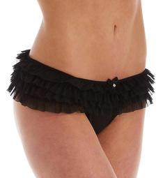 Pour Moi Contradiction Shimmy Frill Brief Panty 16303