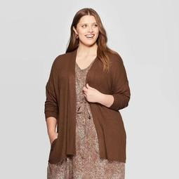 Women's Plus Size Open Layering Coat - A New Day™