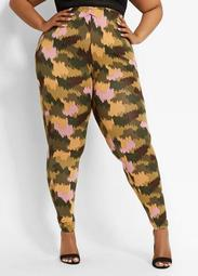 Knit Camo Legging