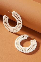 Shashi Lana Hoop Earrings