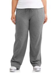 Athletic Works Women's Plus Size Dri More Relaxed Fit Pant