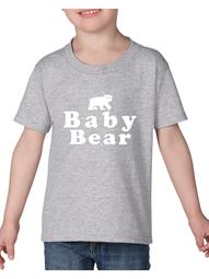 Baby Bear Heavy Cotton Toddler Kids T-Shirt Tee Clothing