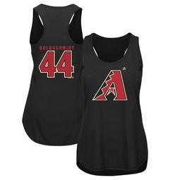 Paul Goldschmidt Arizona Diamondbacks Majestic Women's Plus Size Player Tank Top - Black