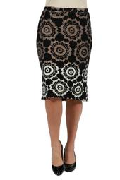 24/7 Comfort Apparel Lexi Skirt