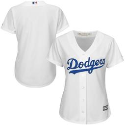 Los Angeles Dodgers Majestic Women's Plus Size Cool Base Team Jersey - White