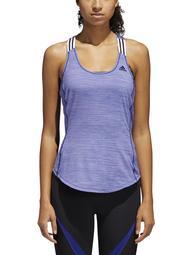 Adidas Womens Plus Fitness Running Tank Top Purple L
