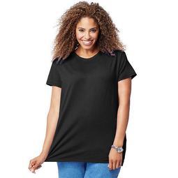 90563030262 Cotton Jersey Short-Sleeve Scoop-Neck Womens Tee Shirt - B5, 2X