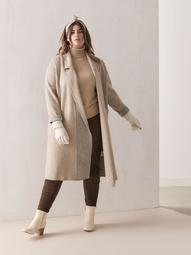 Brushed Knit Bella Duster Coat - Sosken