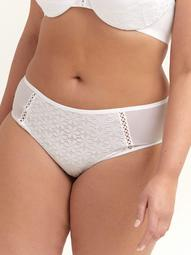 Ashley Graham High Cut Lace Up Panty