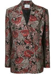 baroque pattern blazer