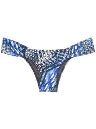 'Ritz' printed bikini bottom