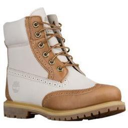 "Timberland 6"" Premium Brogue Boots - Women's"