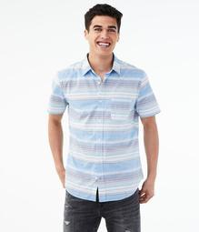 Horizon Stripe Button-Down Shirt