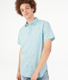 Avocado Button-Down Shirt***