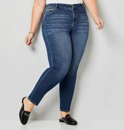 5-Pocket Dark Wash Skinny Jeans