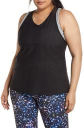 Perforated Active Tank Top