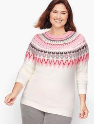 Icicle Fair Isle Sweater