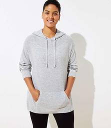 LOFT Plus Hoodie Sweater