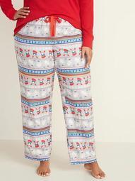 Klaus™ x Old Navy Flannel Plus-Size Pajama Pants