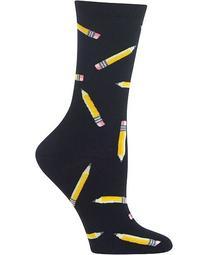 Women's Pencils Crew Socks