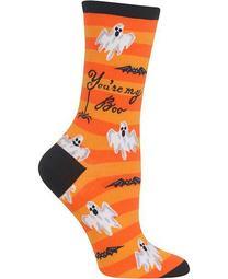 Women's You are My Boo Crew Socks