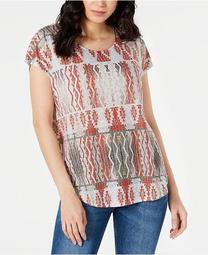 Petite Short-Sleeve Dolman T-Shirt, Created for Macy's