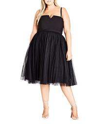 Princess Fit-and-Flare Dress