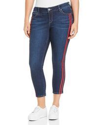 Stripe Ankle Jeans in Camila
