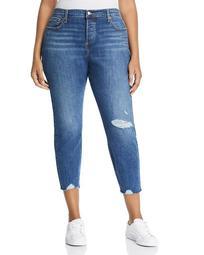 Wedgie Skinny Ankle Jeans in Medium Blue