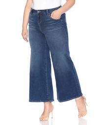 Wide-Leg Jeans in Heather