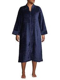 Plus Tassel Zip Robe