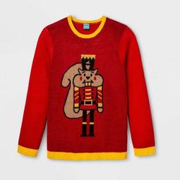 Nutcracker Plus Size Ugly Holiday Sweater - Red