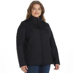 Women's Weathercast Midweight Quilted Moto Jacket